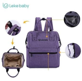 LEKEBABY 2017 Update High Capacity Splashproof Diaper Backpack - intl