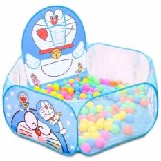 Lều bóng Doraemon kèm 100 quả bóng nhựa
