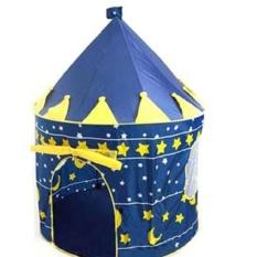 Lều bóng lâu đài hoàng tử đáng yêu cho bé