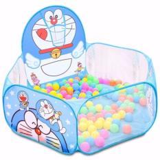 Nhà banh Doraemon kèm 100 quả bóng nhựa