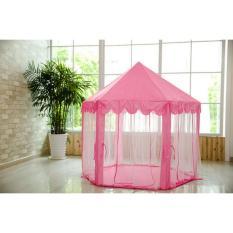 Lều ngủ công chúa phong cách Hàn Quốc cho bé (Hồng) – Kmart