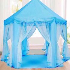 Lều công chúa phong cách Hàn Quốc cho bé (Xanh)