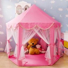 Lều lục giác dành cho bé màu hồng – Kmart