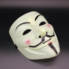 Mặt nạ Hacker mặt nạ Anonymous Màu Vàng