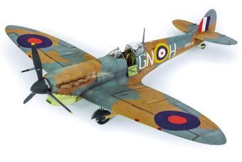 Máy bay mô hình - 1/48 Spitfire MK ( Có nhiều hảng san xuất )