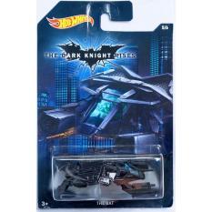 Máy bay mô hình tỉ lệ 1:64 Hot Wheels The Dark Knight Rises The Bat 5/6 ( Màu Đen )