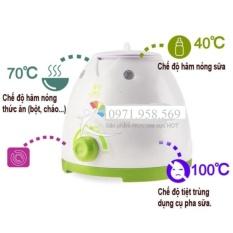 Máy hâm nóng sữa, Hâm nóng thức ăn và tiệt trùng Dụng cụ pha sữa