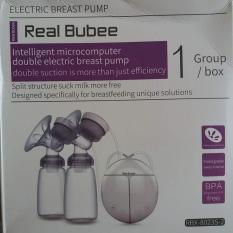[HCM]Máy hút sữa điện đôi 8 cấp độ chức năng Massage Real Bubee