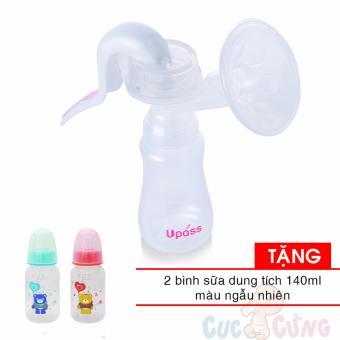 Máy hút sữa tay UP1005NH UPASS TẶNG 2 bình sữa 140ml bằng nhựa VN