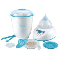 Máy tiệt trùng bình sữa và sấy khô Kenjo KJ-09N (Trắng phối xanh)