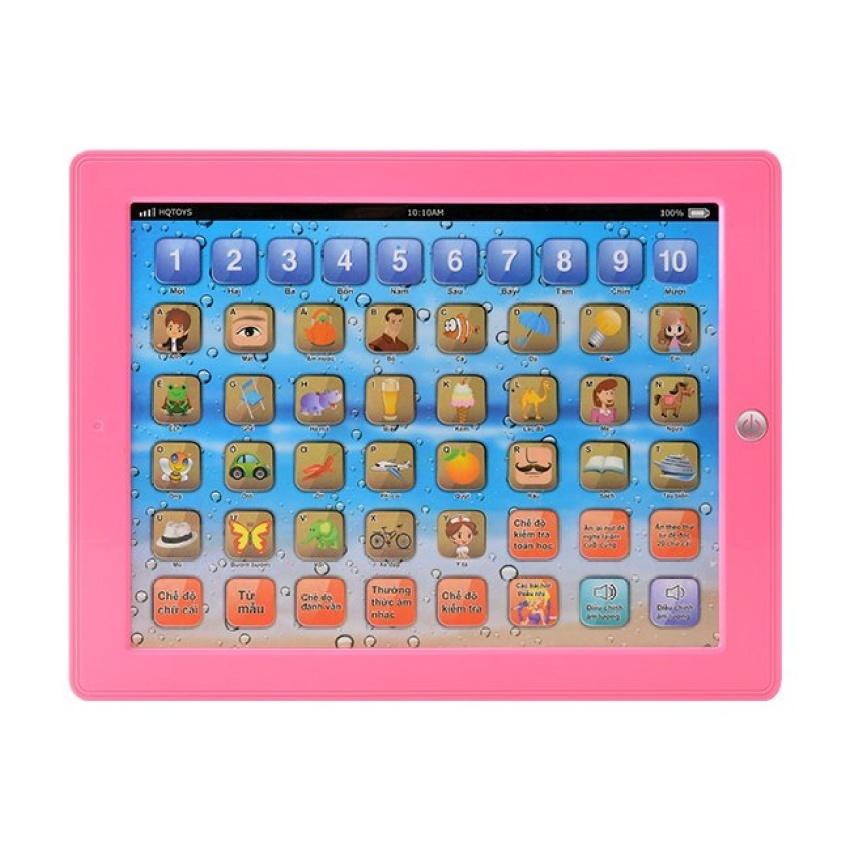 Máy tính bảng thông minh cho bé học tâp ( hồng)