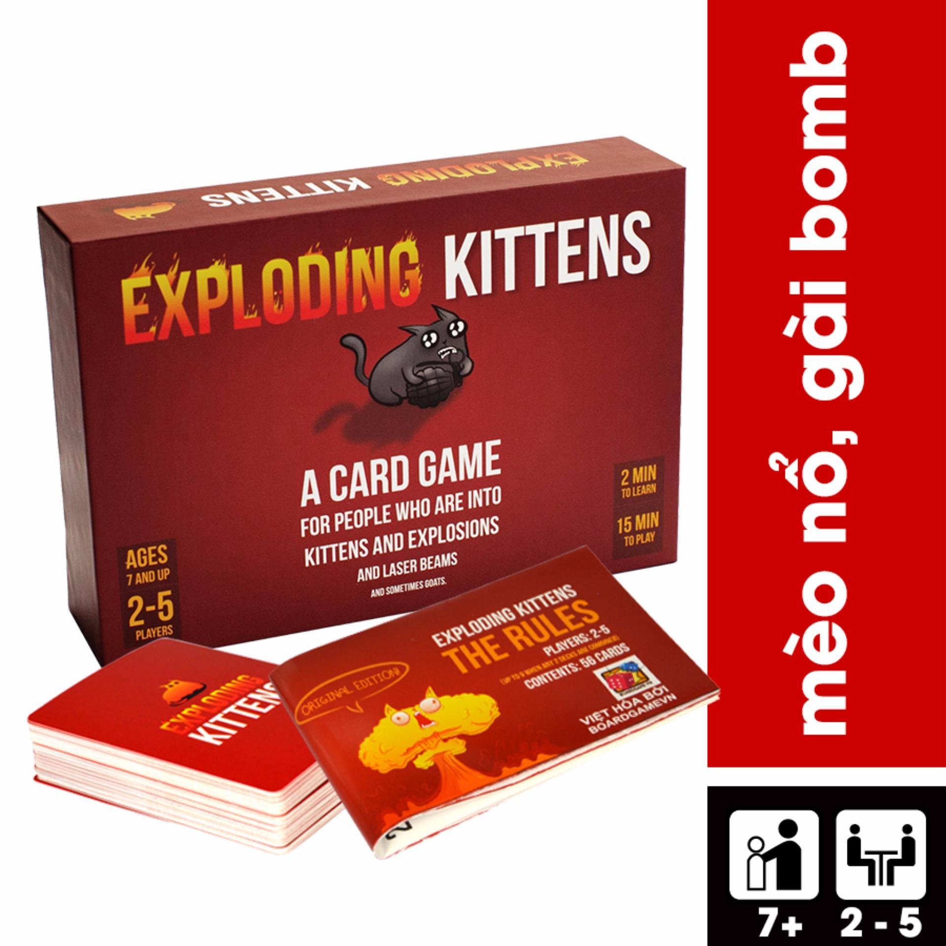 Nơi Bán Mèo Nổ – Exploding Kittens