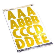 Miếng dán sticker bảng chữ cái 97 chữ/bộ UBL SL0342