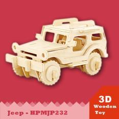 Mô hình 3D Xe JEEP- HPMJP232 DiyDollHouse