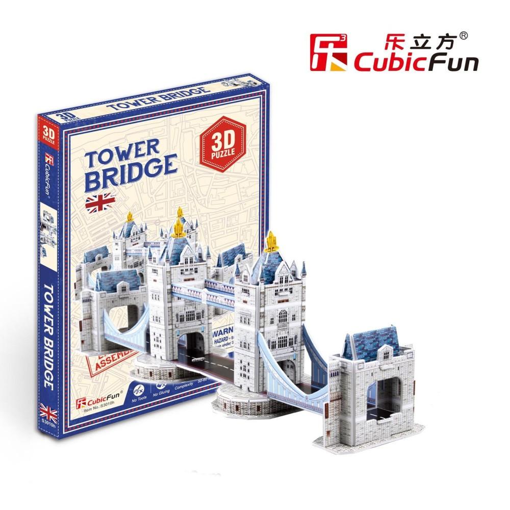Mô hình đồ chơi lắp ghép trí tuệ 3D Cubic Fun – Cầu Tháp London