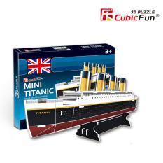 Mô hình đồ chơi lắp ghép trí tuệ 3D Cubic Fun – Tàu Titanic