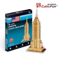 Mô hình lắp ghép trí tuệ 3D Cubic Fun – Tòa nhà Empire States Mỹ