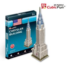 Mô hình lắp ghép trí tuệ 3D Cubic Fun – Tòa nhà Chrysler Building New York