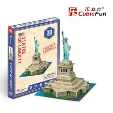 Mô hình lắp ghép trí tuệ 3D Cubic Fun – Tượng nữ thần Tự do Mỹ