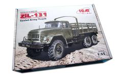 Mô hình lắp ráp xe quân sự 1/35 Russian Army Truck Zil-131 – ICM