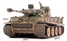 Mô hình lắp ráp xe tăng cở lớn 1:16 – TIGER I
