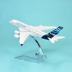 MÔ HÌNH MÁY BAY KIM LOẠI -16CM – AIRBUS A380