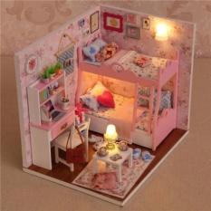 Mô hình nhà gỗ ghép kute phát triển trí tuệ cho bé