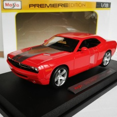 Mô hình ô tô Dodge Challenger Concept Blue 1/18 36138