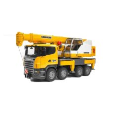 Mô hình xe tải cần cẩu SCANIA BRUDER BRU03570