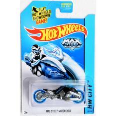 mô tô mô hình tỉ lệ 1:64 Hot Wheels xe theo phim Max Steel Motocycle ( Nhiều Màu )
