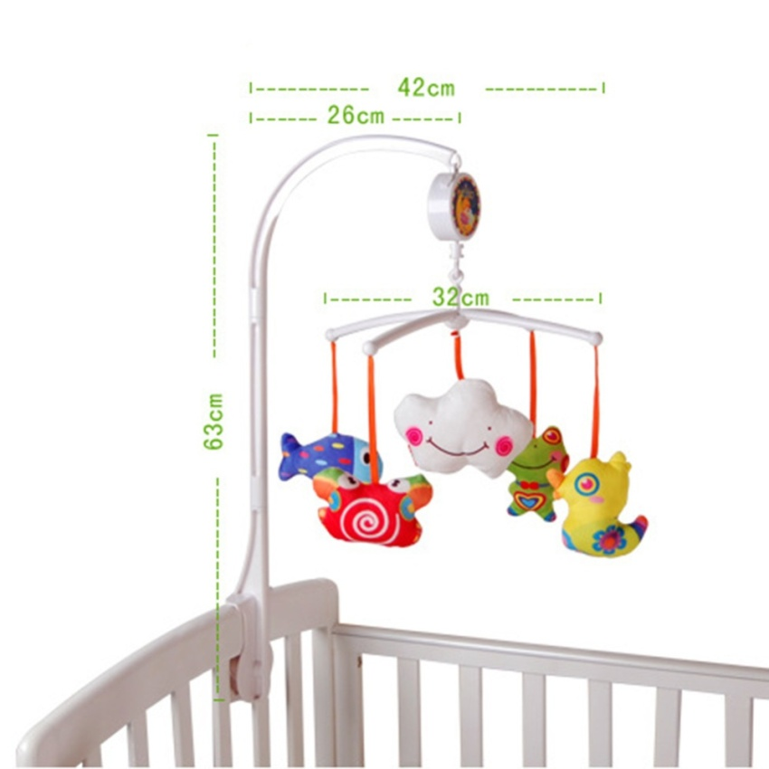mother baby mobiles baby crib mobile bed bell toy holder gi 419 000. Black Bedroom Furniture Sets. Home Design Ideas