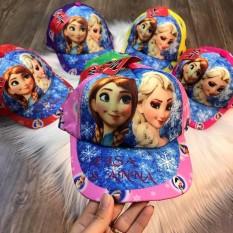 Mũ lưỡi trai in hình 3D cho bé gái từ 3 tới 14 tuổi