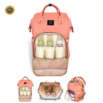 Mummy Maternity Nappy Diaper Bag Large Capacity Baby Bag Travel Backpack - intl