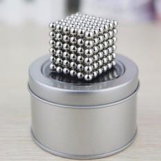 Nam châm xếp hình 216 viên 5mm tròn Magcube BukyBalls. Có hộp đựng