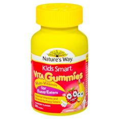 Nature's Way Kids Smart Vita Gummies Multi Vitamin for Fussy Eaters 60 Pack