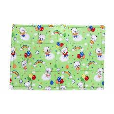 [HCM]Nệm Lót Gòn Cotton TL Cho Bé 105 x 72 Cm xanh lá( họa tiết ngẫu nhiên)