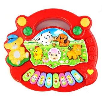 New Useful Baby Kid Animal Farm Piano Music Toy Developmental -intl