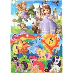 Ngựa Pony, Công Chúa Sofia ghép hình gỗ Smart Toys