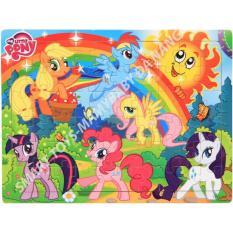 Ngựa Pony ghép hình gỗ Smart Toys