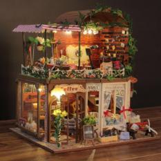 Nhà búp bê lắp ghép – Ria is Magic DiyDollHouse