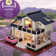 Nhà búp bê Provence Lavender DiyDollHouse