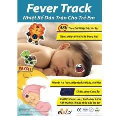 Nhiệt kế dán trán cho trẻ em – FeverTrack