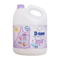 Nước giặt quần áo Dnee cho trẻ em 3000ml (Màu tím date 2020 – Hàng công ty)