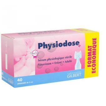 Nước muối sinh lý Physiodose-Hộp 40 ống