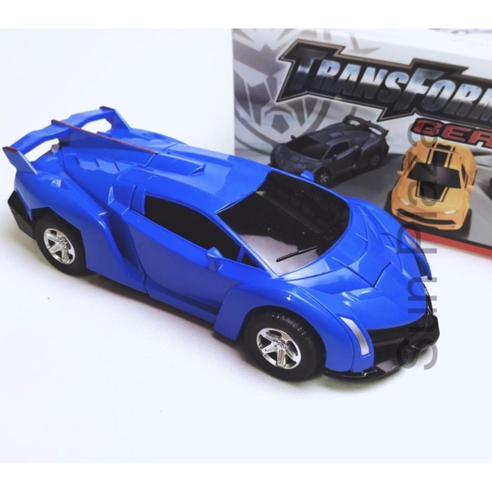 Ô tô biến hình thành Siêu nhân - Ô tô biến hình thành robot Transformers