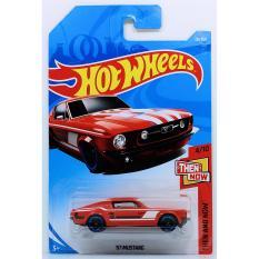 Ô tô mô hình tỉ lệ 1:64 Hot Wheels 2018 '67 Mustang ( Màu Đỏ )