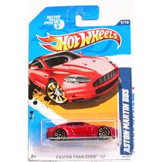 ô tô mô hình tỉ lệ 1:64 Hot Wheels Aston Martin DBS 99/247 ( Màu Đỏ )