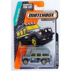 ô tô mô hình tỉ lệ 1:64 Matchbox Land Rover Defender 110 ( Màu Xám )