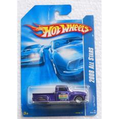Ô tô tải mô hình cổ điển tỉ lệ 1:64 Hot Wheels La Troca 2008 All Stars ( Màu Tím Xanh )
