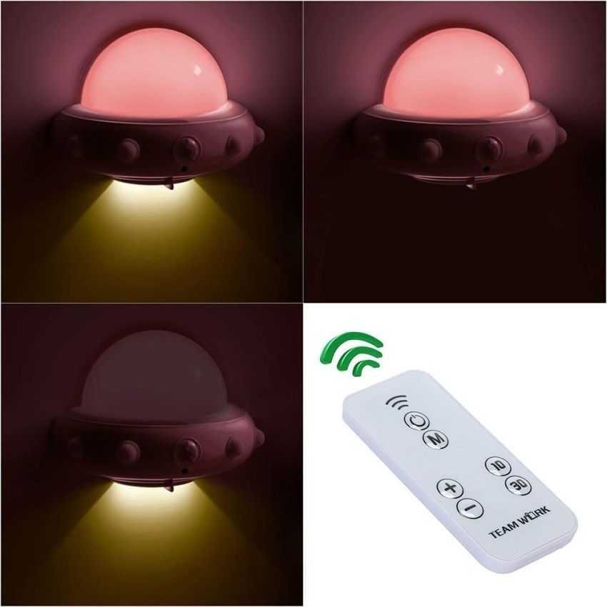 Opoopv Kids Small Night Light With Timer Plug In Wall